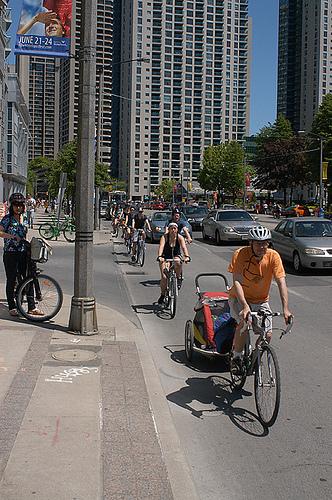 ciclistas toronto