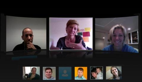 conferência skype