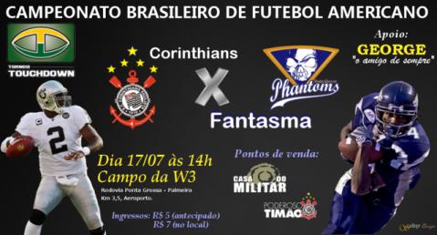 futebol americano no brasil