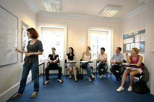 sala de aula intercambio