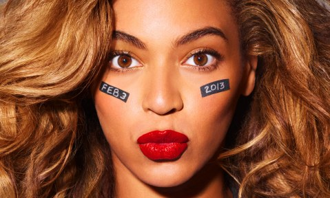 Beyonce irá comandar o espetáculo do intervalo neste ano