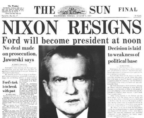 renuncia nixon